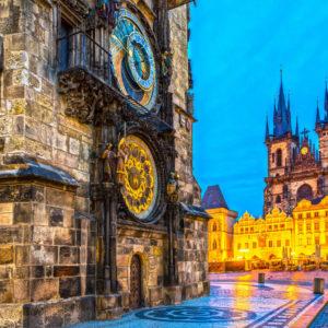 Автобусный тур выходного дня в Прагу