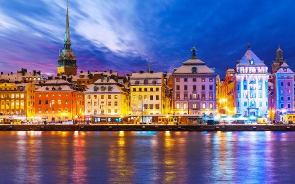 Тур с морским круизом по европейским столицам Рига-Стокгольм-Хельсинки-Таллин